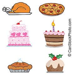 élelmiszerek, ünnep