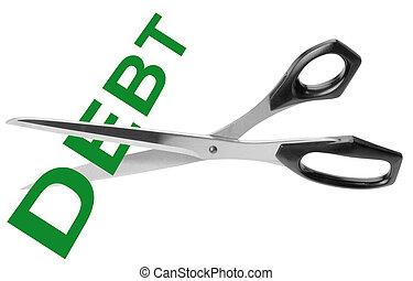 éles, adósság