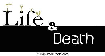 élet, és, halál