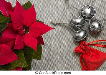 élet, ünnepies, közelkép, együtt, halom, csilingel, mozdulatlan, christmas tök