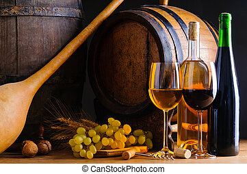 élet, mozdulatlan, boripari üzem