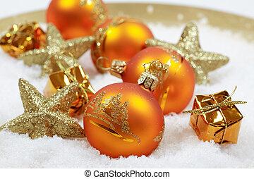 élet, mozdulatlan, karácsony