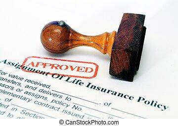 életbiztosítás, politika