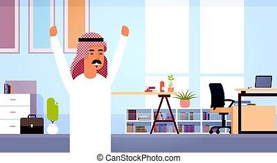 clipart vecteur de ville arabe homme stands occidental. Black Bedroom Furniture Sets. Home Design Ideas