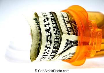 élevé, coût soins médicaux
