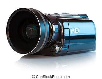 élevé, définition, caméscope