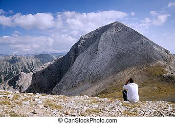 élevé, montagne