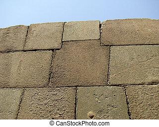 élevé, précision, construction, dans, granit