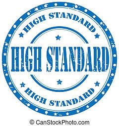 élevé, standard-stamp