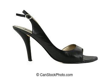 élevé, womens, chaussure, talon