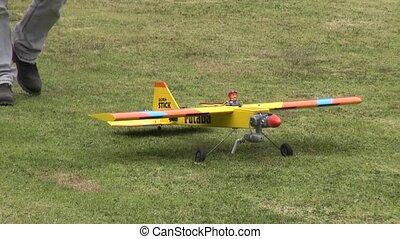 éloigné, contrôlé, avion, rc, jouets