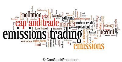émissions, commerce