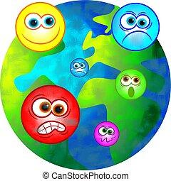 émotif, mondiale