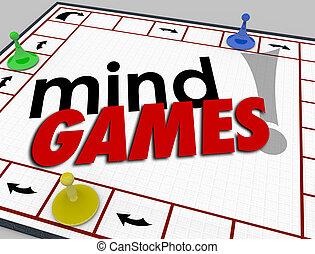 émotion, psychologie, ruses, esprit, jeux, planche, ...