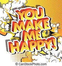 én, happy!, ön, csinál