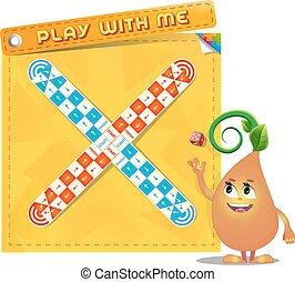 én, játék, játéktábla