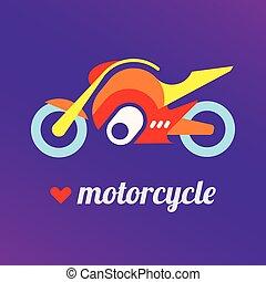 én, szeret, motorkerékpár