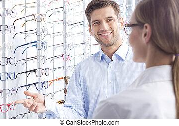 én, tudott, szeret, fordíts, cserél, az enyém, szemüveg