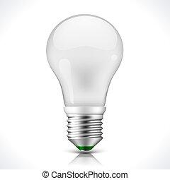 énergie, économie, lampe