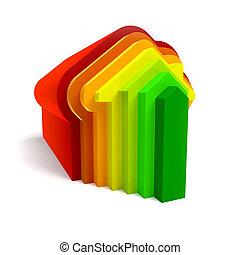maison nergie conomie conomie cellules toit. Black Bedroom Furniture Sets. Home Design Ideas