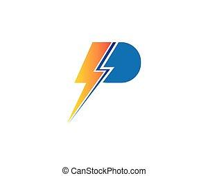 énergie électrique, illustration, puissance, flash