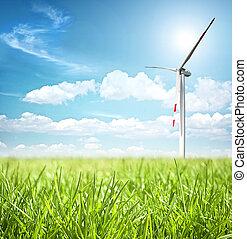 énergie, concept, propre