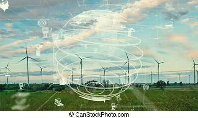 énergie, conservation environnementale, modernisation, renouvelable, avenir