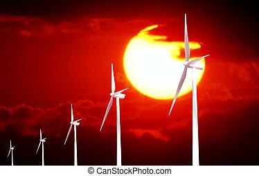 énergie, depuis, nature