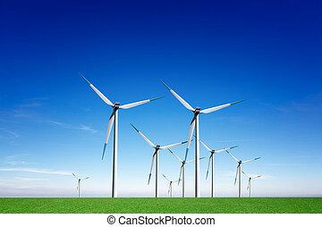 énergie, global, vent
