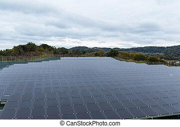 énergie, panneau solaire