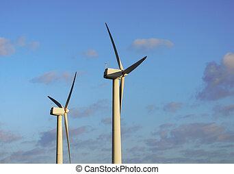 énergie, production, vent