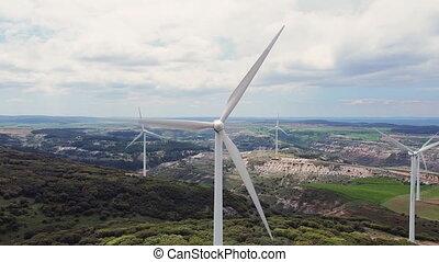 énergie, renouvelable, development., propre, soutenable, sky...