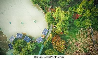énergie, terre, parc, alternative, nature