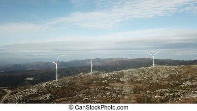 énergie, turbines, vent