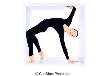 énorme, flexibilité