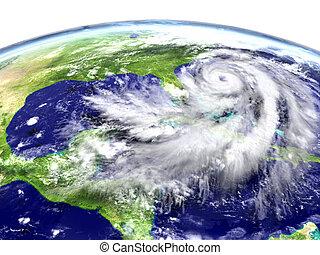 énorme, ouragan