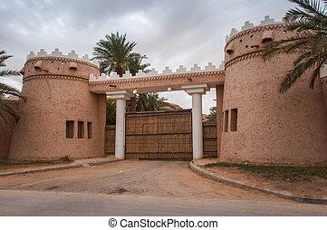 énorme, riyad, maisons, extravagant, arabie saoudite