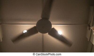 énorme, ventilateur