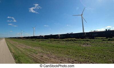 éoliennes, production, pouvoir électrique