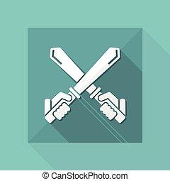 épée, icône