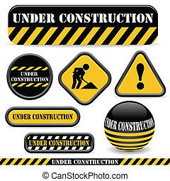 építés alatt