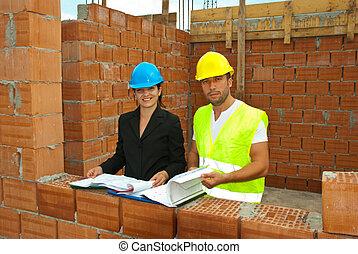 építész, munka házhely