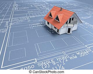 építészet ábra