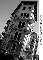 építészet, olasz