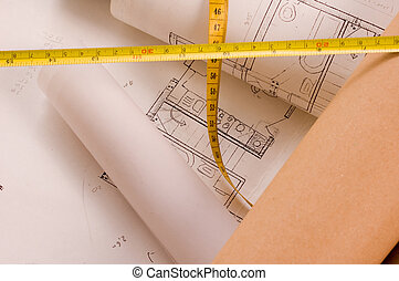 építészet, terv