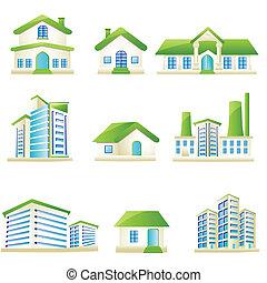 építészeti, épület