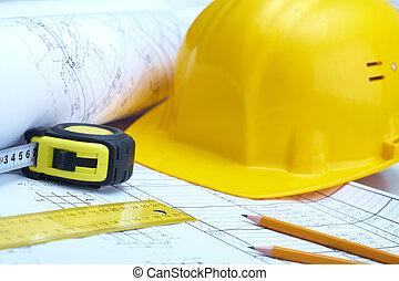 építő, műszerek