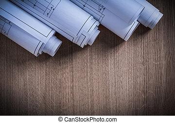 épület ábra, tekercselt, conc, szerkesztés, cölöp, építészet