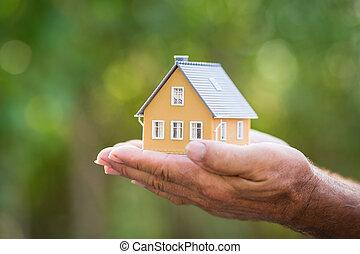 épület, ökológia, kézbesít