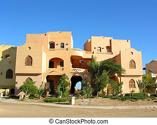 épület, arab
